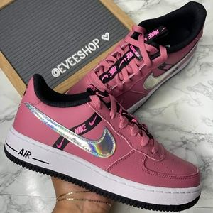 Air Force 1 low Pink Iridescent